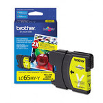Brother LC65HYY High Yield Yellow Ink Cartridge