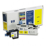 HP 83 Yellow UV Printhead & Cleaner C4963A