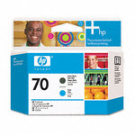 HP 70 Black & Cyan Printhead C9404A