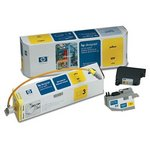 HP Designjet CP Yellow UV Ink System C1895A
