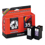 Lexmark #34, #35 Black & Color Twin Pack