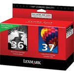 Lexmark #36, #37 Black & Color Twin-Pack