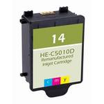 HP 14 Compatible Tri-Color Ink Cartridge C5010D