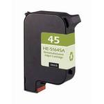 HP 45 Compatible Black Inkjet Cartridge 51645A