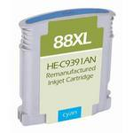 HP 88XL High Yield Compatible Cyan Ink Cartridge