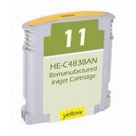 HP 11 Compatible Yellow Ink Cartridge C4838A