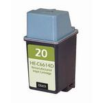 HP 20 Compatible Black Inkjet Cartridge C6614D