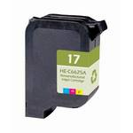 HP 17 Compatible Tri-Color Ink Cartridge C6625AN