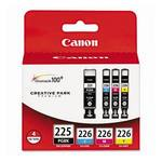 Canon 4530B008 CLI-226 4 Color Ink Cartridge Pack