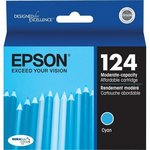 Epson T124220 Moderate Use Cyan Ink Cartridge