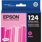 Epson T124320 Moderate Use Magenta Ink Cartridge