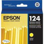 Epson T124420 Moderate Use Yellow Ink Cartridge
