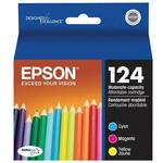 Epson T124520 Moderate Use Color Ink Multipack