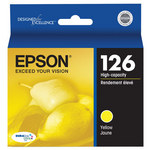 Epson T126420 High Capacity Yellow Ink Cartridge