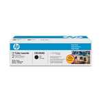 HP CB540AD Black Laser Toner Cartridge 2-pk